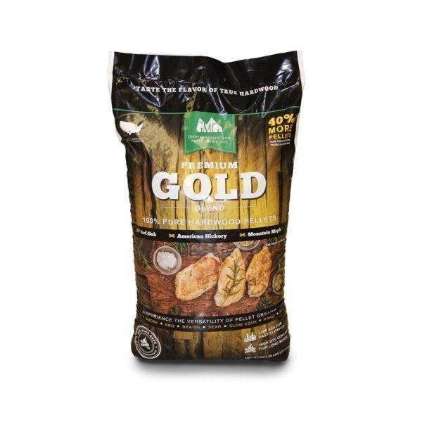 GMG BBQ-Holzpellets Gold Blend 12,7 kg Sack