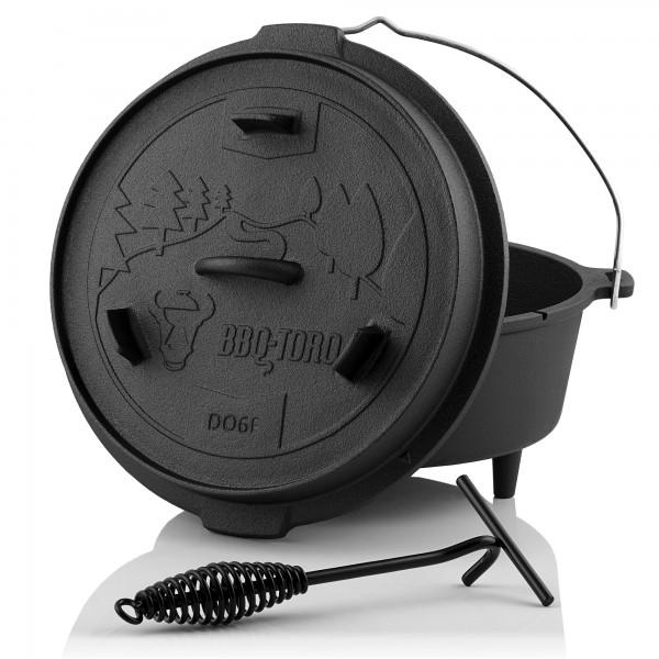 BBQ Toro Dutch Oven DO6F Forest Serie