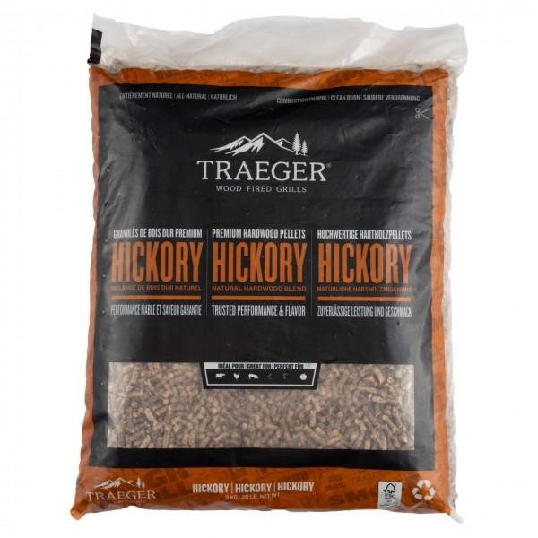 Traeger BBQ-Holzpellets FSC Hickory, 9kg Beutel