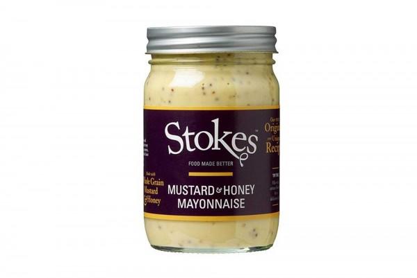 STOKES MUSTARD+HONEY MAYONNAISE