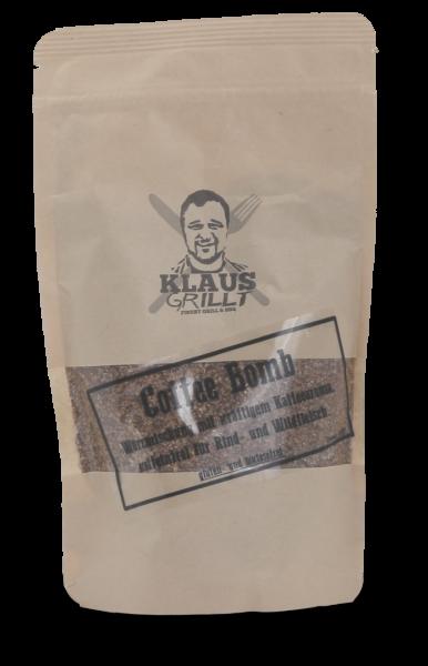 Coffee Bomb Rub Klaus grillt Beutel 250 g