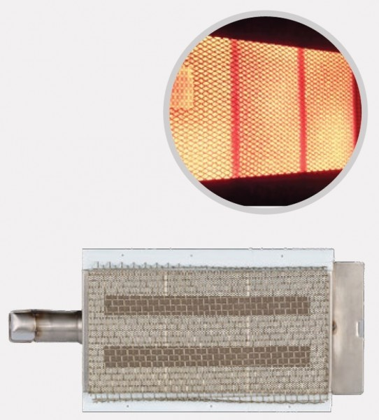 BULL Infrarot Searing Brenner