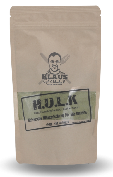 HULK Rub von Klaus grillt Beutel