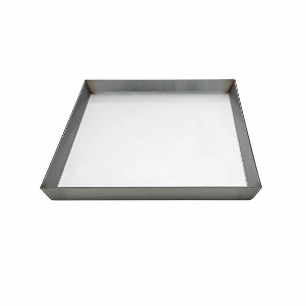 Edelstahlkochplatte 30x46x2, Dicke 3 mm