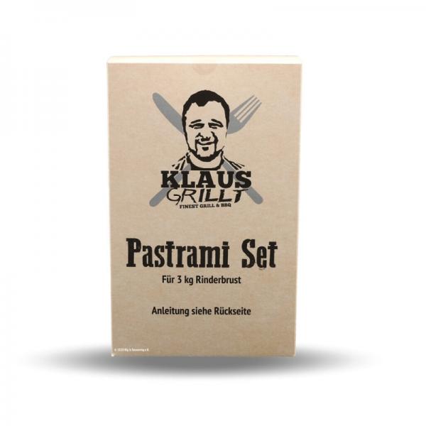 Pastrami Set Klaus grillt 3 Kg Rinderbrust