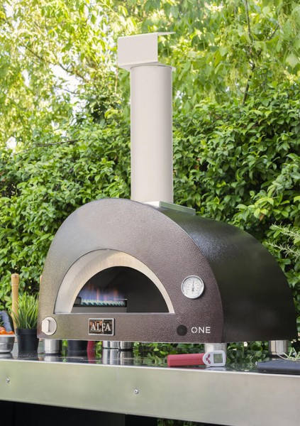 Alfa Pizzaofen ONE Kupfer Top GAS seitlich