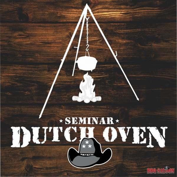 Grillseminar Dutch Oven Grillkurs Logo im BBQ Saloon Minden