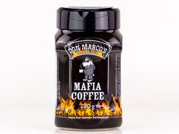 Mafia Coffee Rub von Don Marco's Streuer