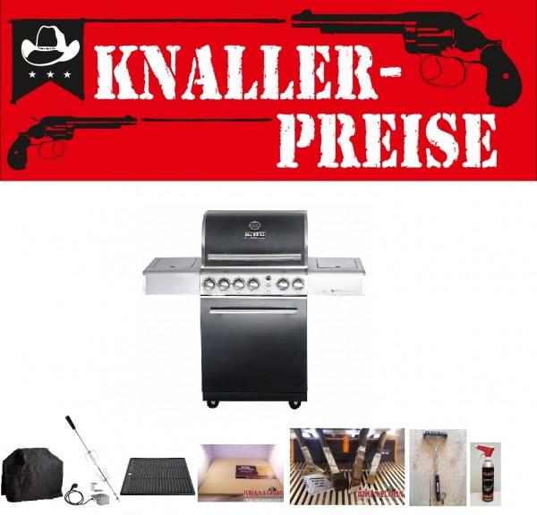 Knaller Allgrill Topline Chef M Black Paketpreis