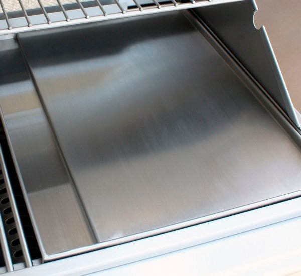 BULL Plancha - Grillplatte Edelstahl