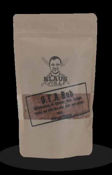 OFA Rub von Klaus grillt Beutel 250 g
