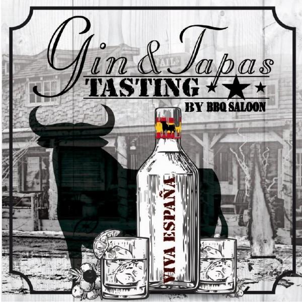 Gin & Tapas Tasting Viva Espana 23.10.21 um 15 Uhr
