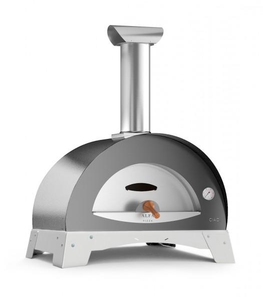 Alfa Ciao Pizzaofen Grau Top