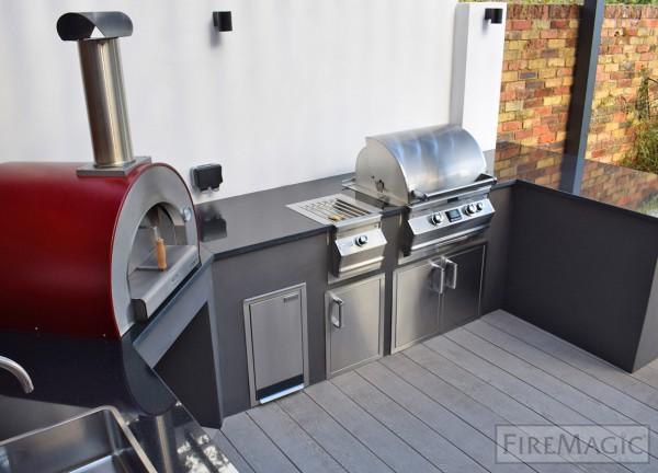 FireMagic Outdoorkueche Modern Style