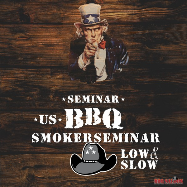 "Grillseminar US BBQ Smokerseminar ""low and slow"""