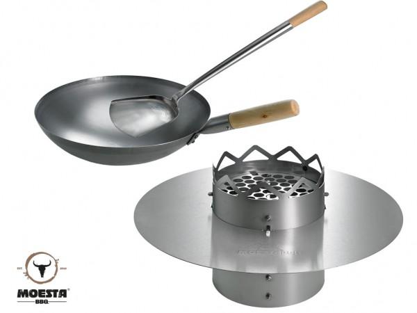 WOK'N BBQ - Komplettpaket für 57 cm Kugelgrills