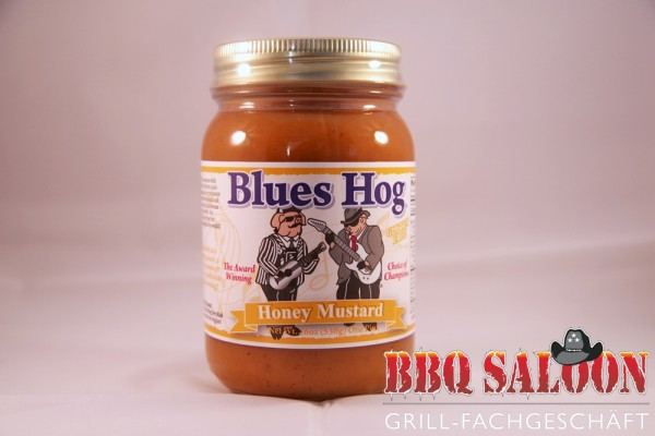 Blues Hog Honey Mustard Sauce 510g-Glas