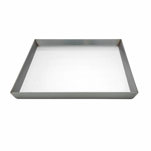 Edelstahlkochplatte 35x46x2, Dicke 3 mm