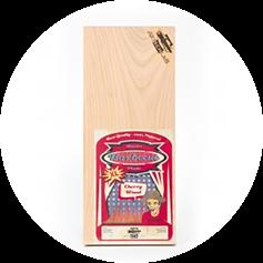 Axtschlag - Aroma Planke Kirschholz 2er Set 400x1500x11mm
