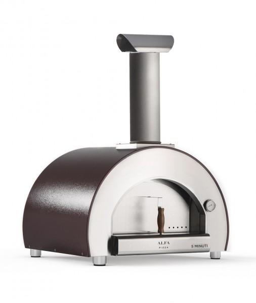 Alfa Pizzaofen 5 Minuti Kupfer Top