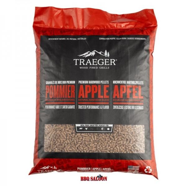 Traeger BBQ-Holzpellets Apfel, 9 kg Sack
