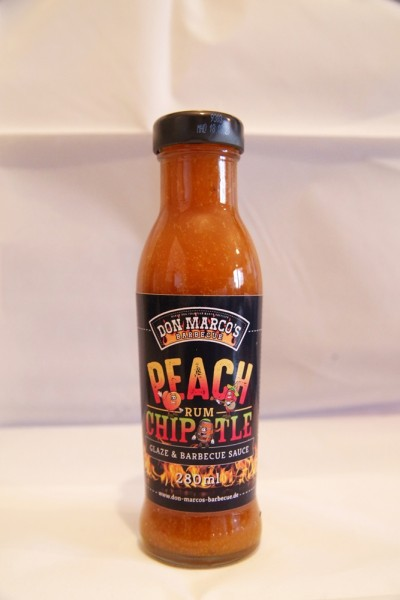 Peach Rum Chipotle Glaze & Sauce