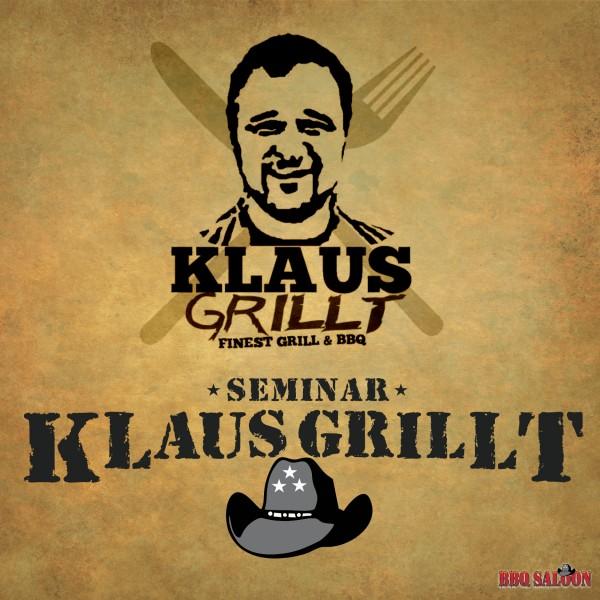 Klaus grillt Grillseminar im BBQ Saloon Minden