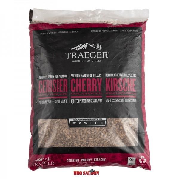 Traeger BBQ-Holzpellets Kirsche 9 Kg Sack