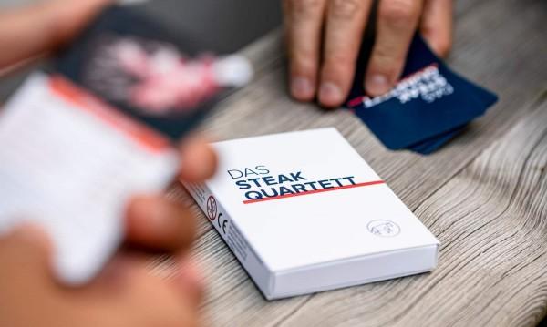 Steak Quartett - Das ultimative Kartenspiel für Fl