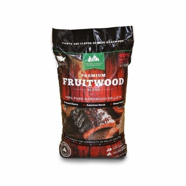 GMG BBQ-Holzpellets Fruitwood Blend 12,7 kg/Sack