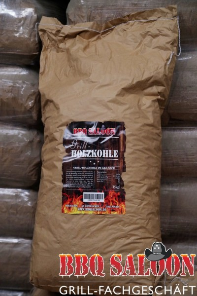 Holzkohle 15 Kg Sack