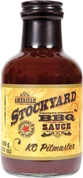 American Stockyard KC Pitmaster BBQ Sauce 350ml